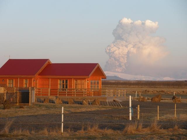 Eyjafjallajökull eruption.