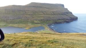 Niðaravatn við Eiðiskoll.